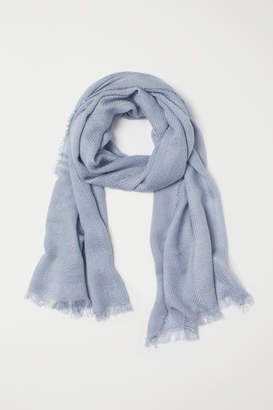 H&M Woven scarf - Blue
