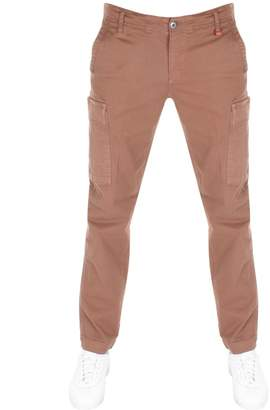 Franklin & Marshall Franklin Marshall Cargo Trousers Brown