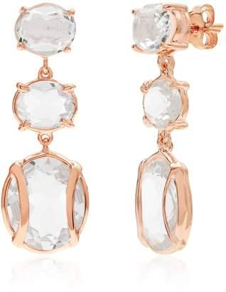 Alexandra Alberta - Lexington Rock Crystal Quartz Earrings