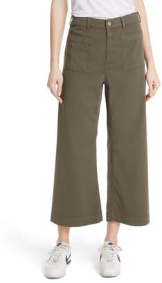 A.L.C. Finley Wide Leg Crop Pants