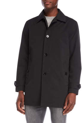 Cole Haan Button Rain Coat