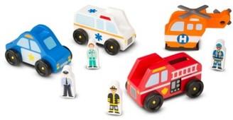 Toddler Melissa & Doug Emergency Vehicles Set $19.99 thestylecure.com