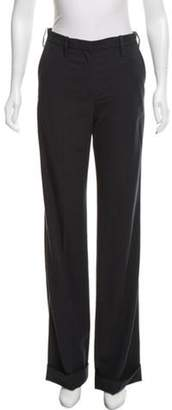 Lanvin Wool Wide-Leg Pants w/ Tags navy Wool Wide-Leg Pants w/ Tags