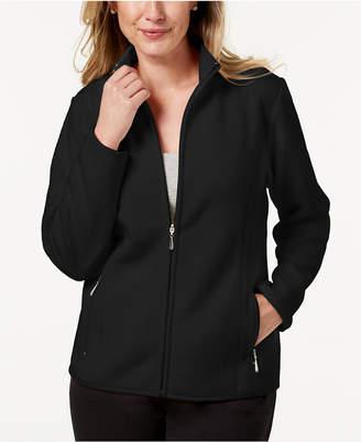 Karen Scott Petite Zeroproof Jacket, Created for Macy's