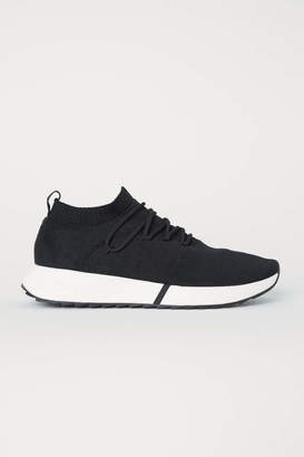H&M Fully-fashioned Sneakers - Black - Men