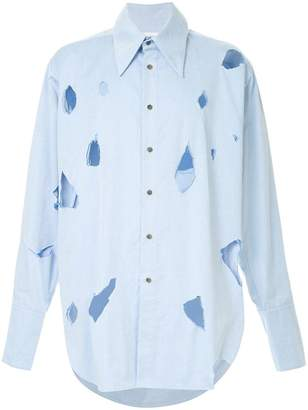 Charles Jeffrey Loverboy ripped shirt
