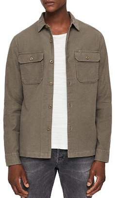 AllSaints Humboldt Regular Fit Button-Down Shirt