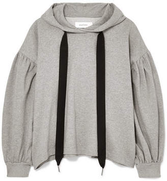 Marques Almeida Marques' Almeida - Oversized Cotton-jersey Hoodie - Gray