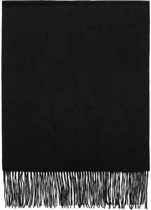 Won Hundred Black Stamford Wool Scarf