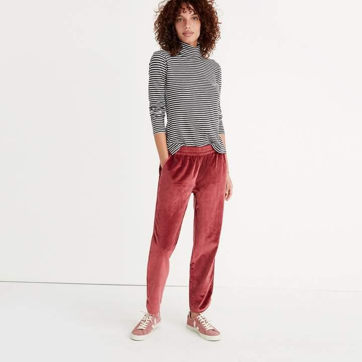 Track Trousers in Velvet
