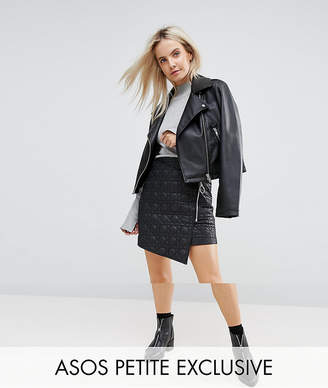 Asos Exclusive Puffer Mini Skirt with Zip