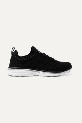 APL Athletic Propulsion Labs Techloom Phantom 3d Mesh Sneakers - Black