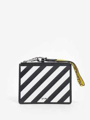 Off-White Clutches & Pouches