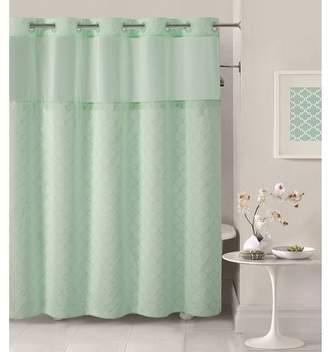 Hookless Mosaic Shower Curtain