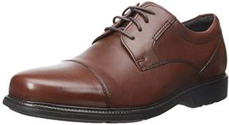 Rockport Men's Charles Road Cap Toe Oxford Leather 7.5 M (D)-