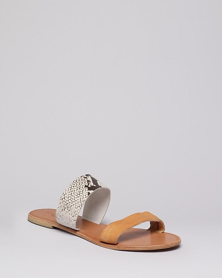 Joie a la Plage Flat Banded Sandals - Sable