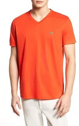 Lacoste V-Neck Cotton T-Shirt