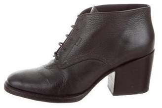 Rachel Comey Leather Lace-Up Booties