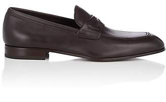 64dc97f911f Salvatore Ferragamo Men s Alred Leather Penny Loafers - Navy