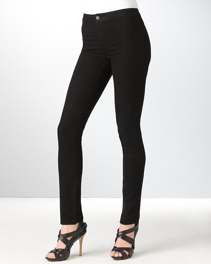 J Brand Legging Jeans in Black Wash