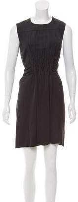 Prada Pleated Sleeveless Dress