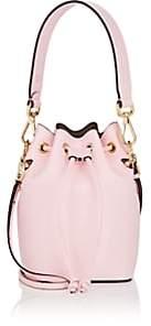Fendi Women's Mon Tresor Mini Leather Bucket Bag - Pink