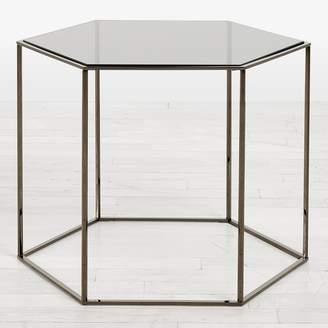 ABC Home Desalto Hexagon Side Table Smoke Floor Sample