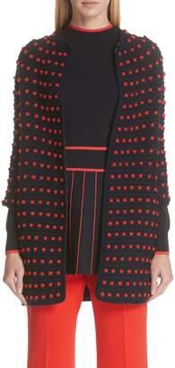 Lela Rose Dot Crochet Cardigan