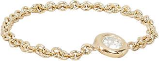 Chicco Zoe Floating Diamond Chain Ring