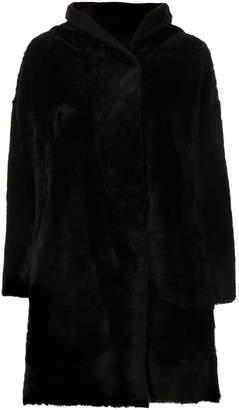 Sylvie Schimmel hooded oversized coat