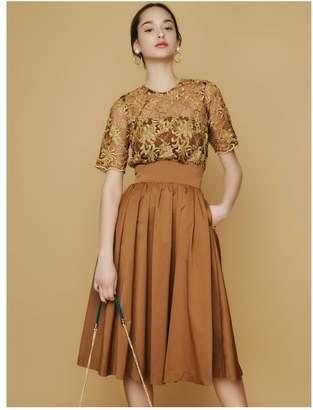 LAGUNAMOON (ラグナムーン) - LAGUNAMOON LADYオーバーレースギャザードレス