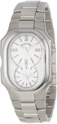 Philip Stein Teslar Unisex 2-NCW-SS Signature Classic White Dial Stainless Steel Bracelet Watch