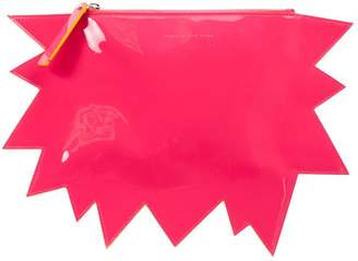 Christopher Kane Patent leather clutch bag
