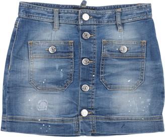DSQUARED2 Denim skirts - Item 42639541LR