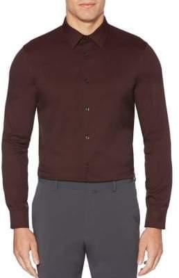 Perry Ellis Slim-Fit Button-Down Shirt
