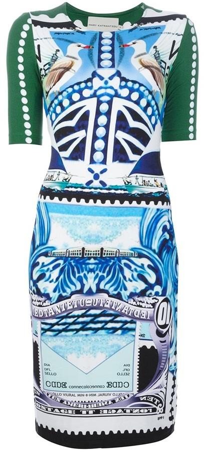 Mary Katrantzou 'Star Sailor' dress