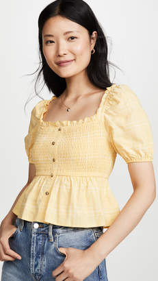 The Fifth Label Hummingbird Check Top
