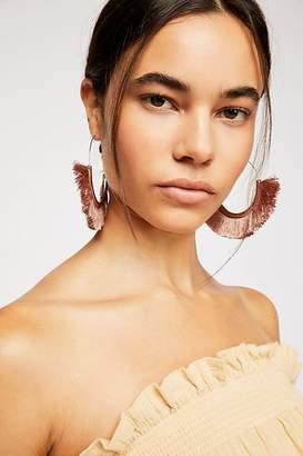 Flamenco Tassel Hoop Earrings