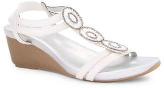 Bandolino Hibanna T-Strap Wedge Sandals