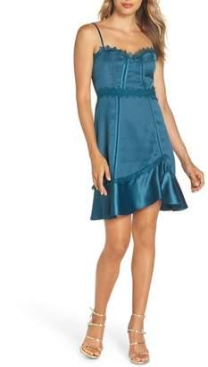Foxiedox Betty Satin & Soutache Party Dress