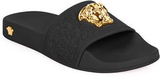 Versace Medusa Pool Slide Sandals