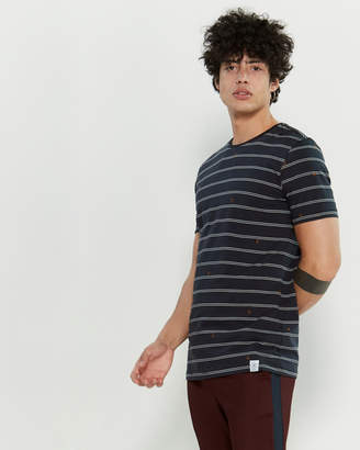 Kultivate Stripe Short Sleeve Tee