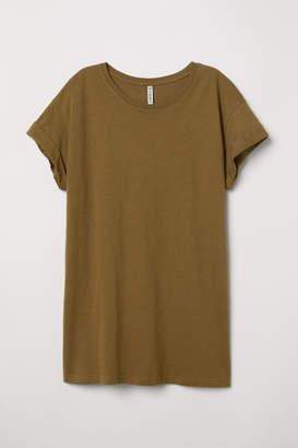 H&M Long T-shirt - Green