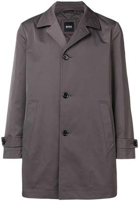 HUGO BOSS buttoned single breasted trench coat