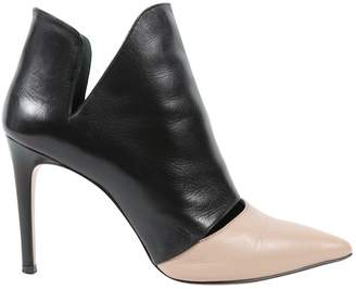 Jean-Michel Cazabat Jean Michel Cazabat Black Leather Heels