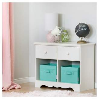 South Shore Summer Breeze 2 Drawer Double Nightstand