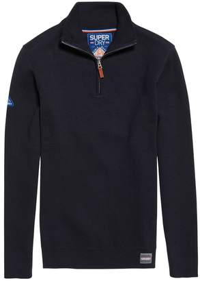 Superdry Metropolitan Northside Zip-Up High Neck Jumper