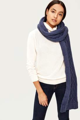 Lole Chunky Knitwear Scarf