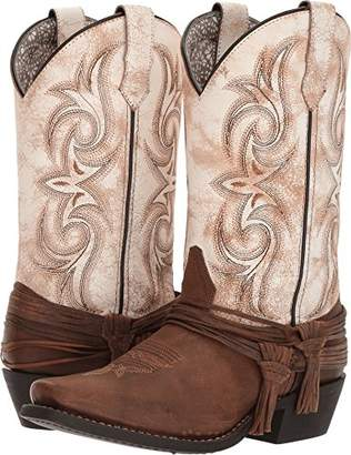 Laredo Womens Cowboy Boots Leather Cowboy Boots Square Toe M