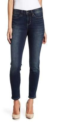 Nicole Miller Hudson Faux Pearl Embellished Straight Leg Jeans